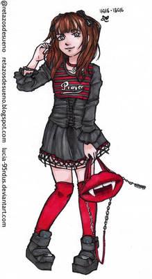 Gothic Girl   @Tokyo Fashion