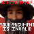 I am Gandalf-Your Argument is Invalid emote-thing
