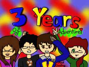 Happy Three Year Anniversary, VenturianTale!