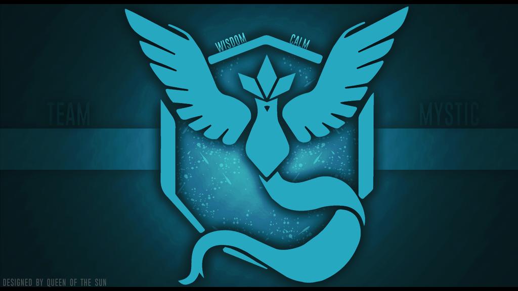 Wallpaper: Team Mystic [Pokemon GO] by QueenArturia
