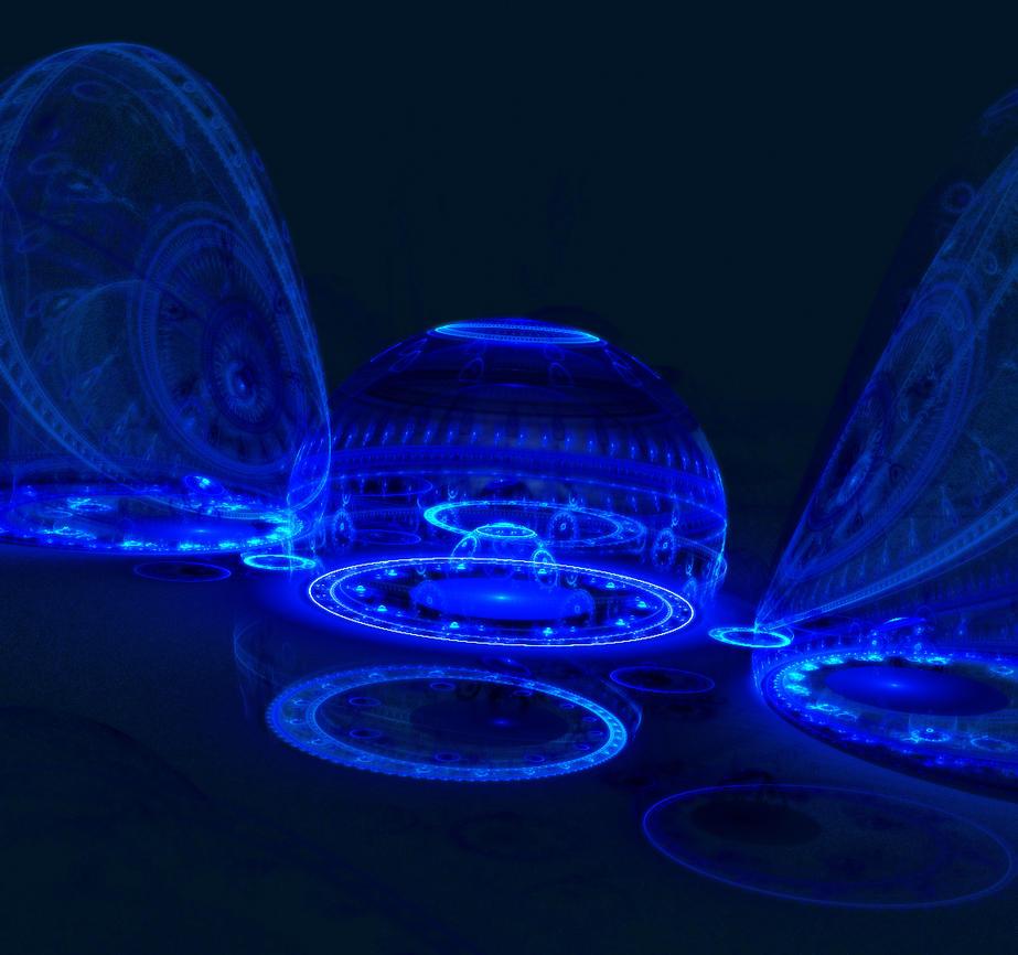 Blue despair02 3D by Yourmung