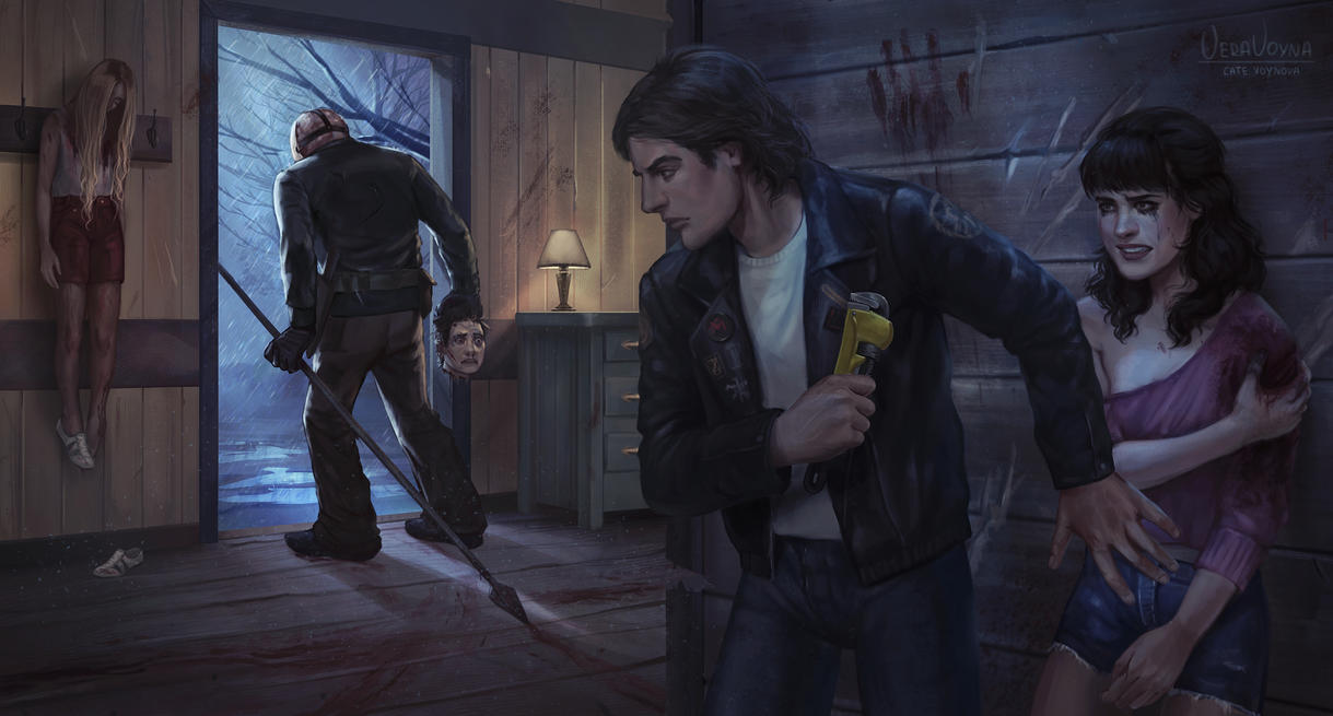 Fanart for Friday the 13th: The Game by VeraVoyna
