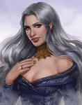 Comission Yulessa Ravenbeak