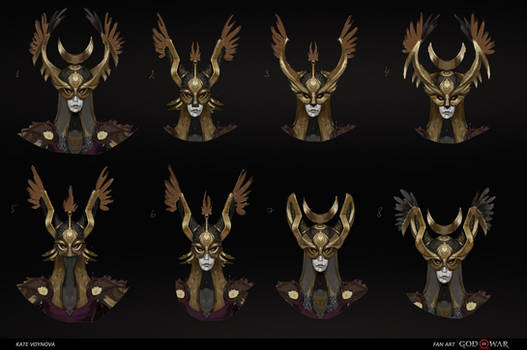 Valkyrie 11 concept mask