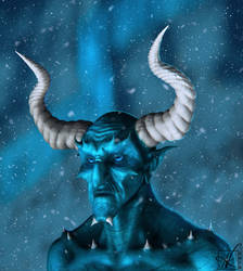 Demon (Creature portrait) Ver.1 by Art-of-Akrosh