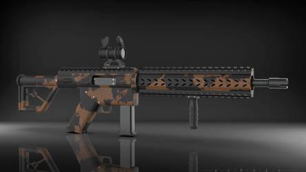 Modern sporting rifle ver. 1 by Art-of-Akrosh
