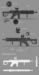 Modern Sporting Rifle Concept sheet by Art-of-Akrosh