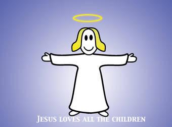 Jesus loves all the children