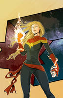 Captain Marvel - Carol Danvers by rodavlasalvador