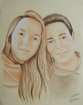 Portrait - Louis and Camille