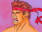 Evil Ryu 2 by THESPHINXNOIR