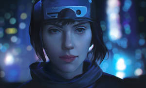 Ghost in the shell - Photo study