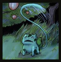 Pokemon: Bulbasaur by dire-musaera
