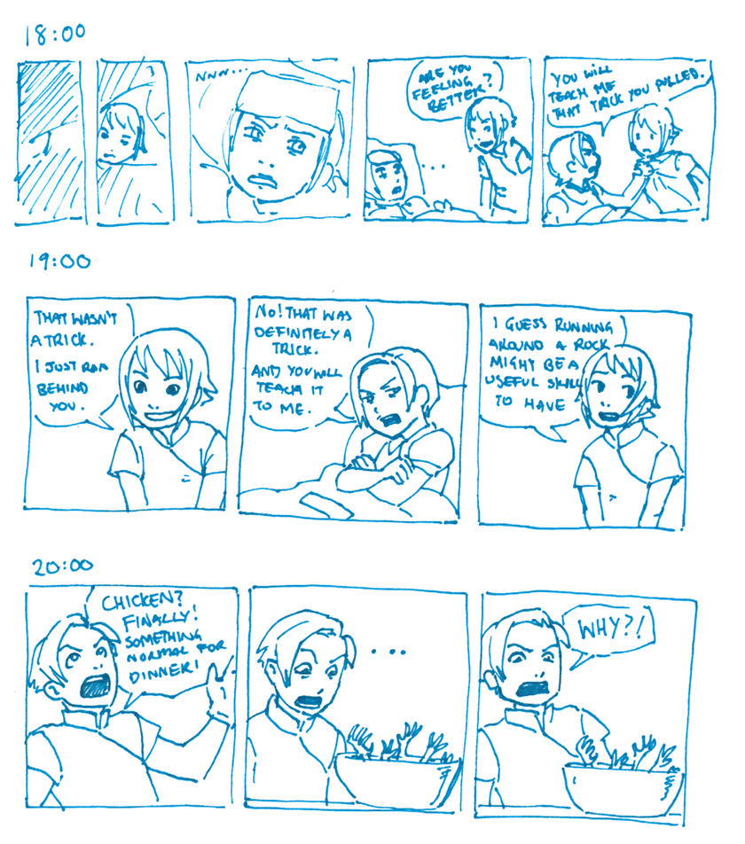Hourly Comics Day: 18 to 20 by dire-musaera