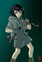 Vellians: Green Beast by dire-musaera