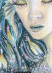 Mermaid  - ACEO