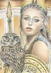 Athena - ACEO