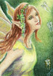 Forest Fae ACEO
