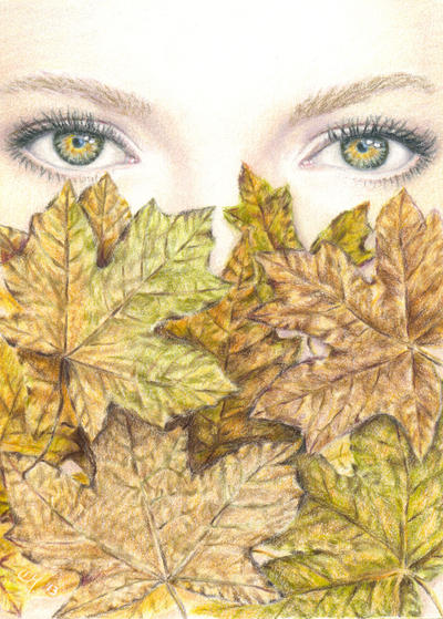 Autumn Eyes by Carol-Moore