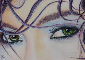 Emerald Eyes by Carol-Moore