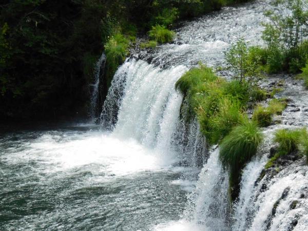 Butte Falls Oregon Stock by Carol-Moore