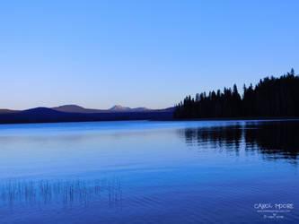 Diamond Lake Oregon by Carol-Moore