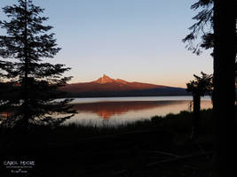 Mt. Thielsen by Carol-Moore