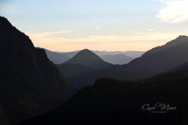 Tatoosh Range and Rampart Ridge