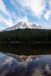 Reflection Lake View of Mt. Rainier