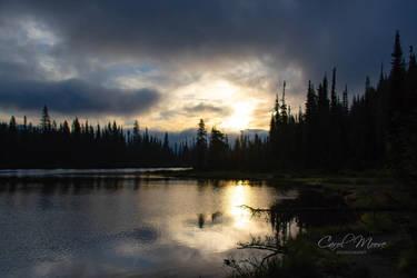 Morning Light at Reflection Lake