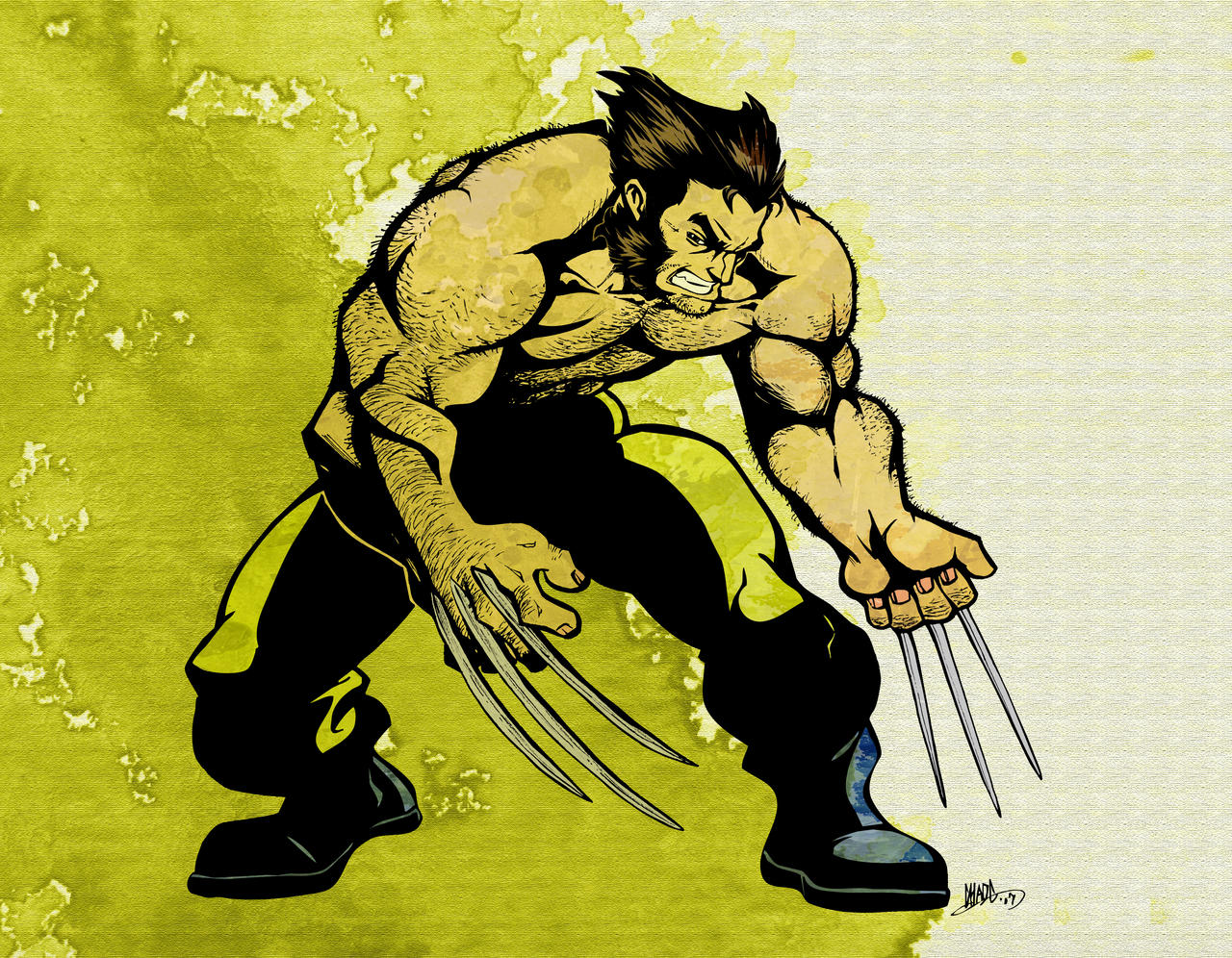 Wolverine by jmascia