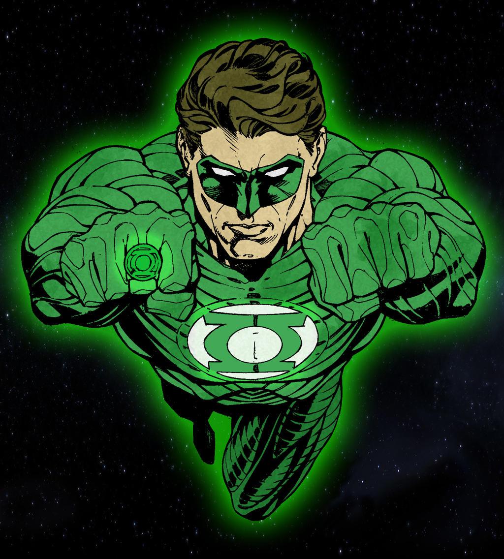 Hal Jordan by jmascia
