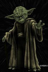Jedi Master Yoda by jmascia