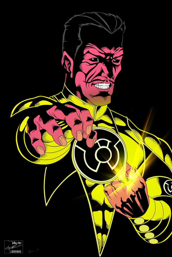 Sinestro by jmascia