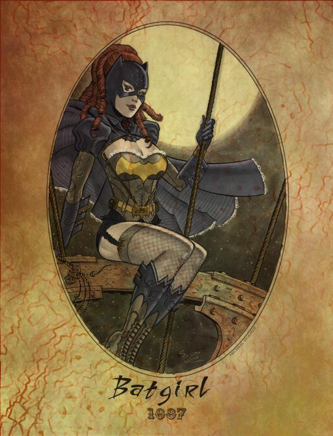 Batgirl 1887 by jmascia