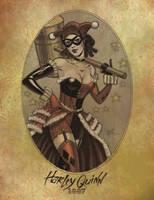 Harley Quinn 1887 by jmascia