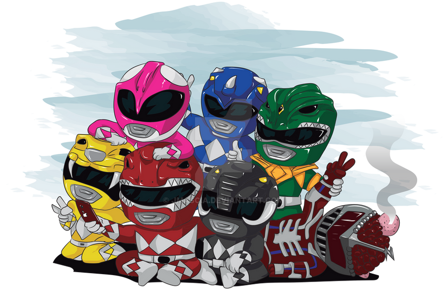 Power Rangers Victory Selfie by jmascia