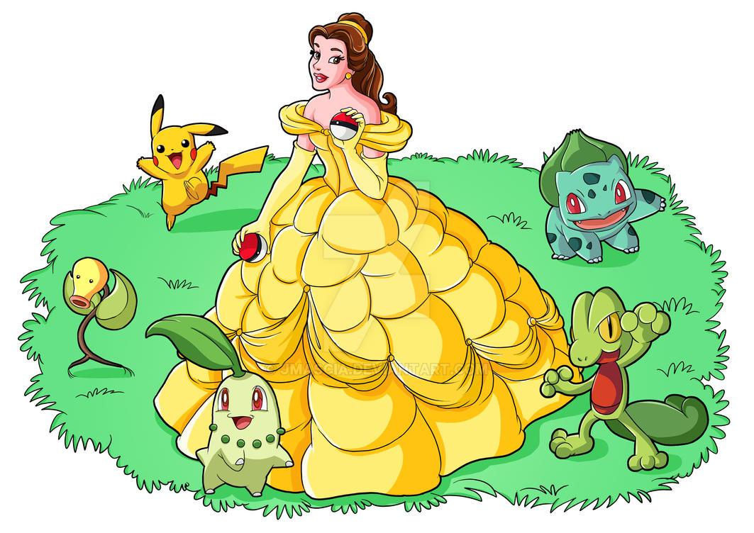 Belle Pokemon Trainer by jmascia