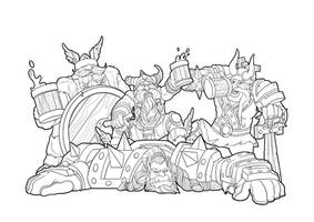 The Vikings Have Not Lost (Lineart)