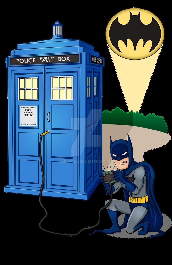 Batman Breaks In by jmascia