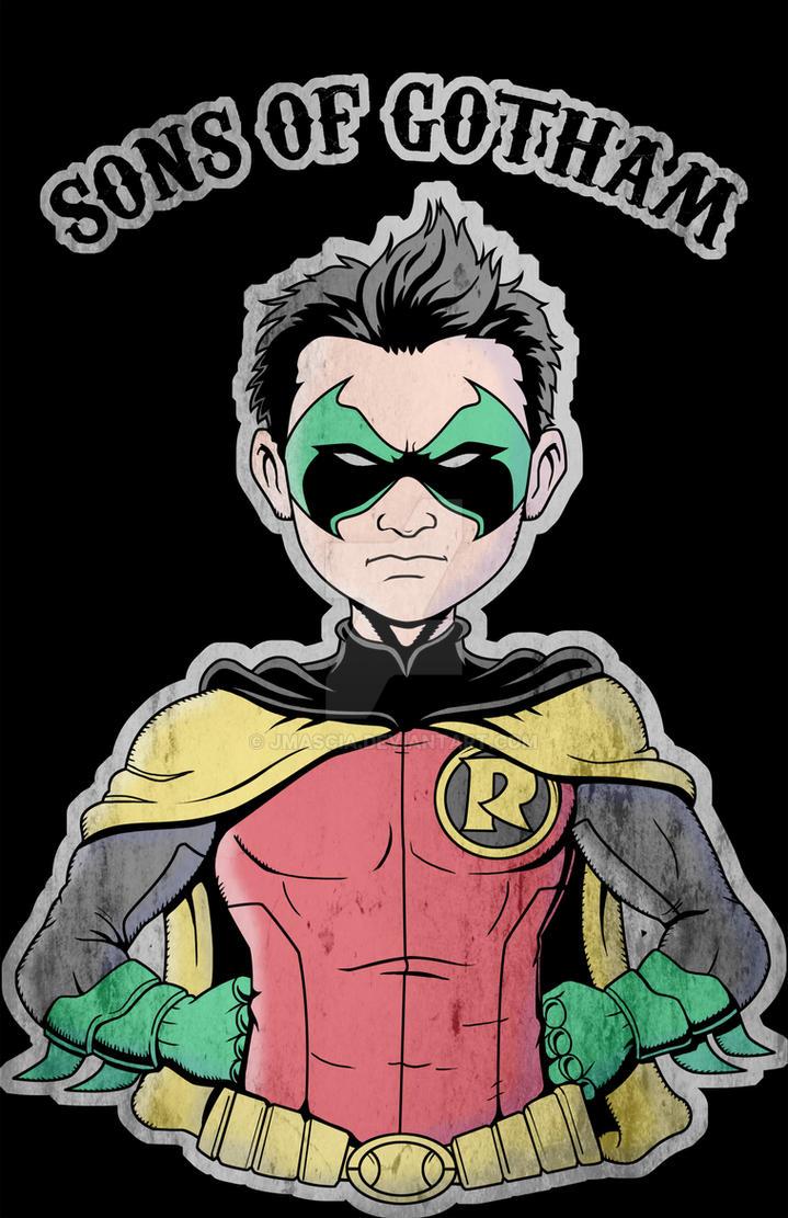 Sons of Gotham - Robin by jmascia