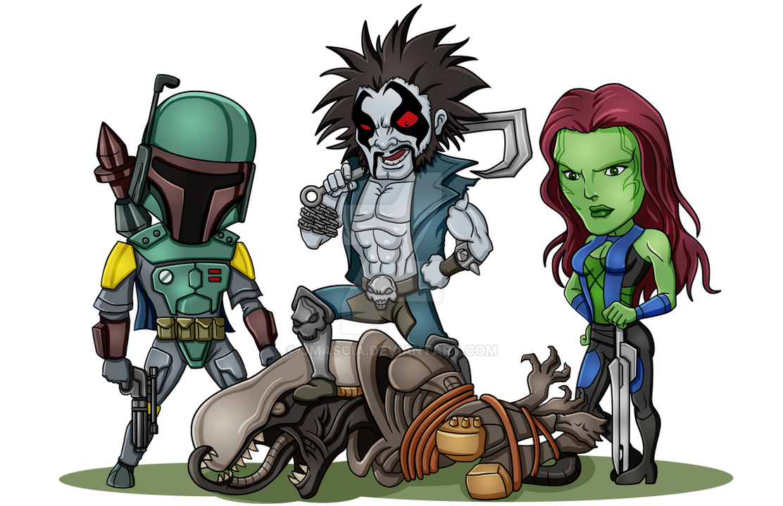 Alien Hunters by jmascia