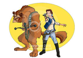 Belle and Beast Love Cosplay