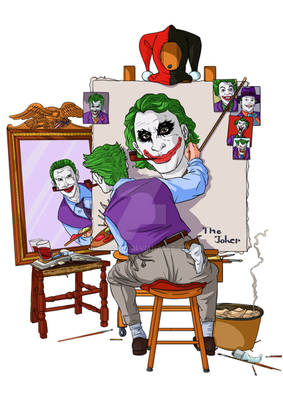 The Clown Prince's Self-Portrait