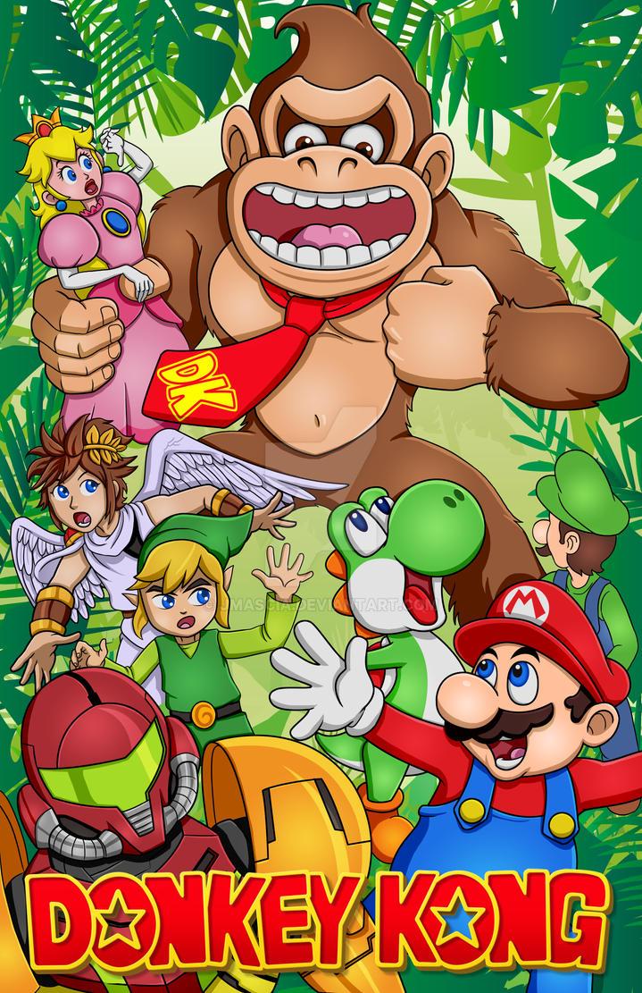 Donkey Kong by jmascia