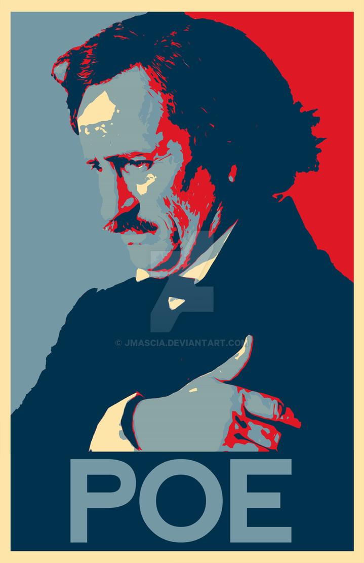 Poe Poster by jmascia