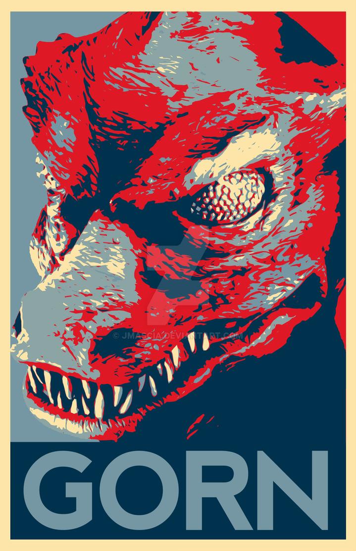 Gorn Poster by jmascia