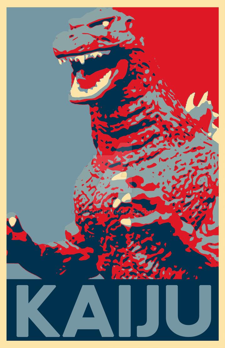 Kaiju Poster by jmascia