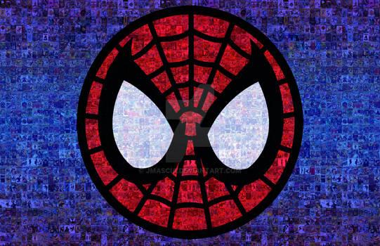 Spider-Man Photomosaic