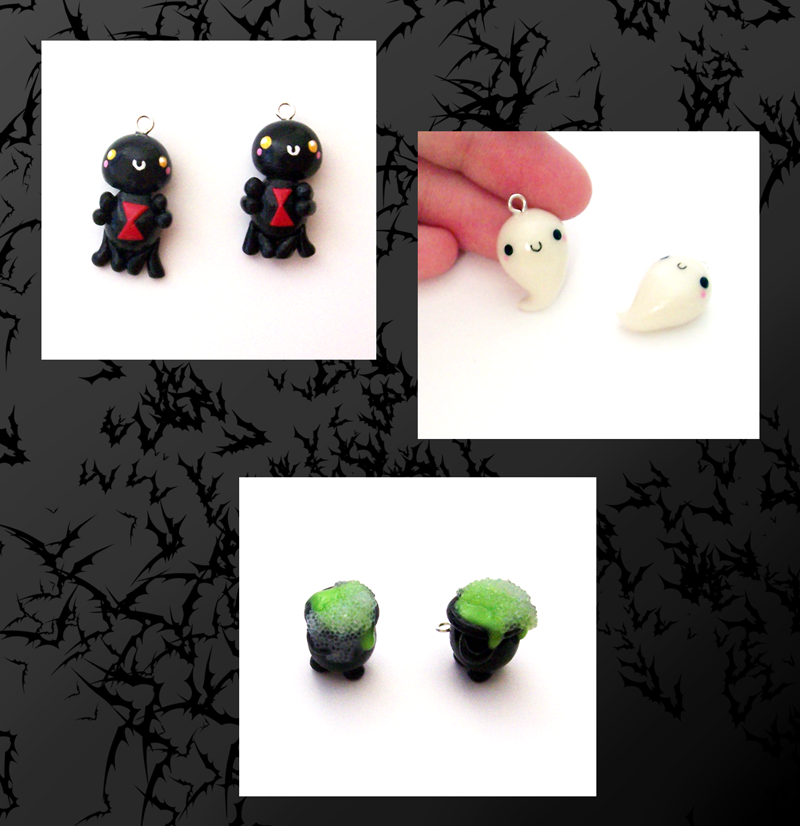 Art I Cake Halloween Charms : Halloween Charms by SeaOfCreations on deviantART